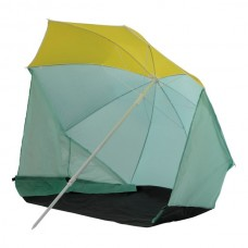 Intersport Brella Parasol/Abri de plage mint-yellow