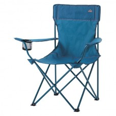 Intersport Camp Chair 200 Chaise de camping blue dark-blue royal-orange
